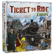 Билет на поезд. Европа (Ticket to Ride: Европа)
